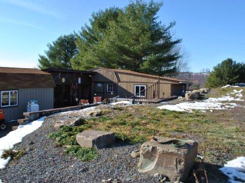107 Acres Cabin & Pond Near Ithaca : Richford : Tioga County : New York