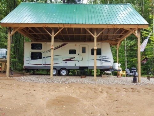 5 Acres Camper And Pole Barn : Annsville : Oneida County : New York