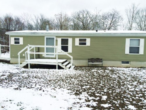 Newer Mobile Home Garage Angelica : Angelica : Allegany County : New York