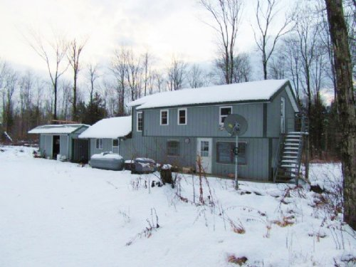 125 Acres Cabin Border State Forest : Forestport : Oneida County : New York