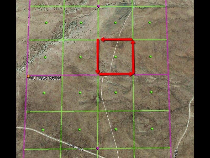 40 Acres Los Animas Ranches : Trinidad : Las Animas County : Colorado