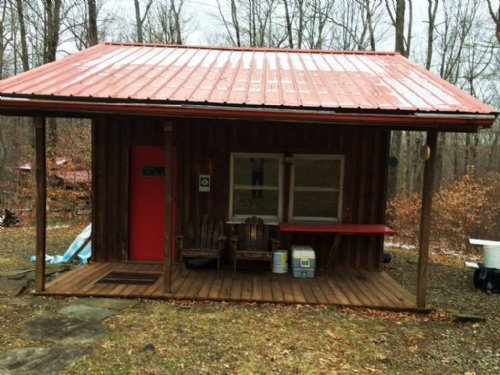 40 Acres Cabin Borders State Forest : Birdsall : Allegany County : New York