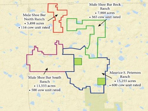 Mule Shoe Bar Ranches And Maurice S : Alliance : Garden County : Nebraska