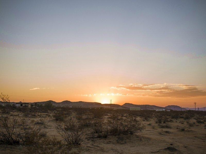 Amazing California Desert Location : Twentynine Palms : San Bernardino County : California