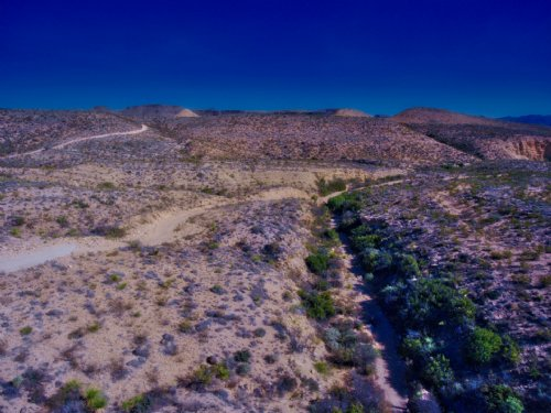 Remote And Private 40 Acres. : Terlingua : Brewster County : Texas
