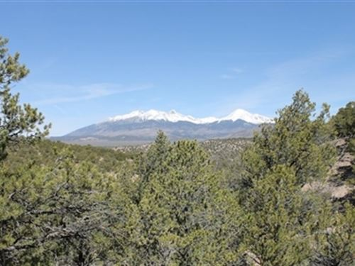 5 Acres - Sangre De Cristo Ranches : Fort Garland : Costilla County : Colorado