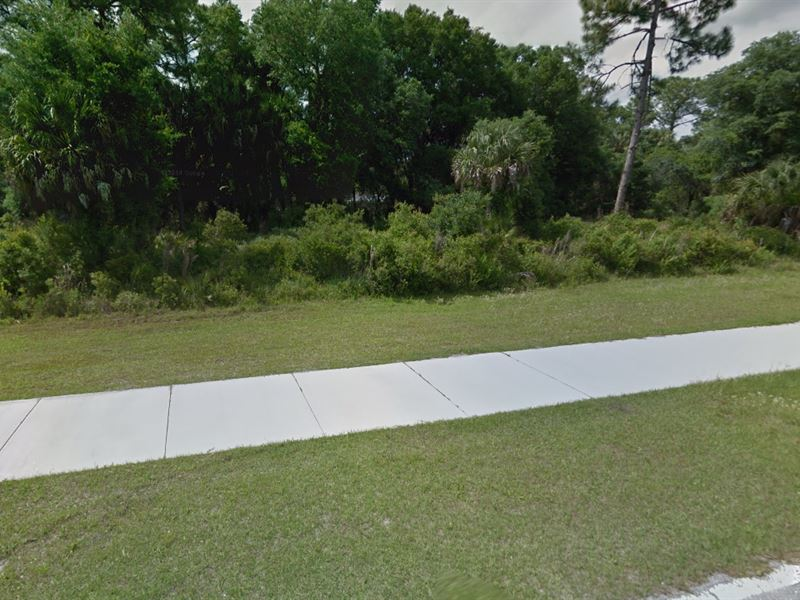 Residential Land For Sale : North Port : Sarasota County : Florida