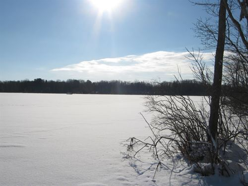 6 Acres Duck Lake Hunting Fishing : Conquest : Cayuga County : New York