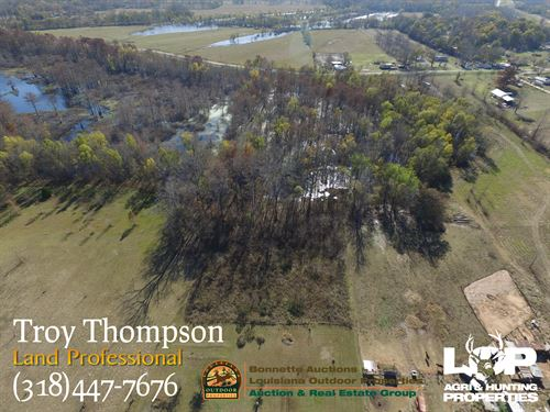 4.4+/- Acres In Brouillette : Marksville : Avoyelles Parish : Louisiana