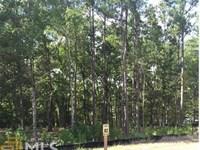 Beautiful Wooded 0.85 Lot In Harmon : Eatonto : Putnam County : Georgia