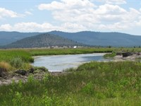 River Front Ranch W/ Artesian Well : Beatty : Klamath County : Oregon