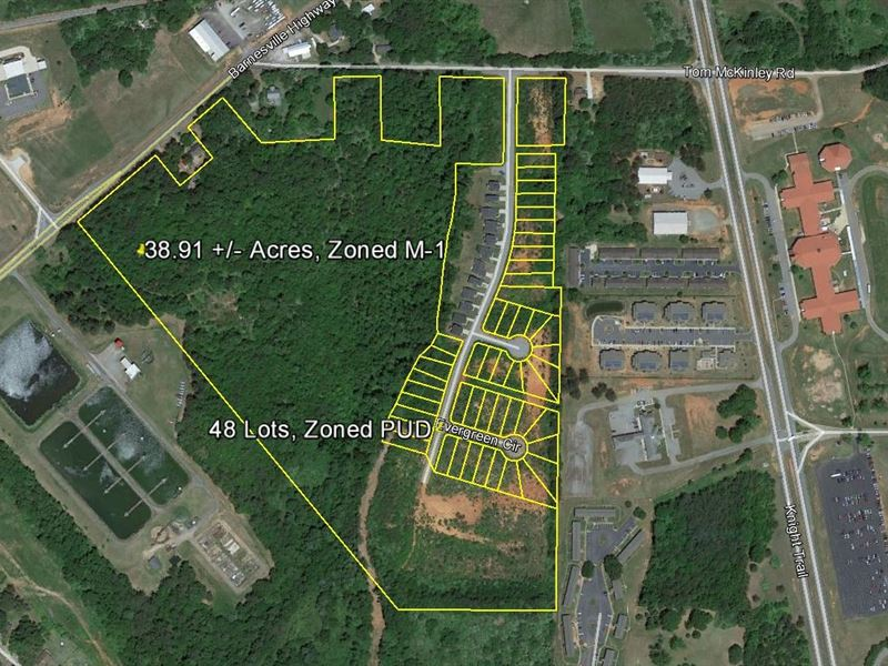 Creekside Manor Subdivision : Thomaston : Upson County : Georgia