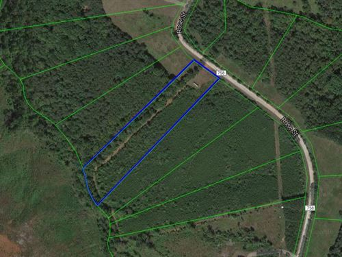 5.94 Wooded Acres : Gretna : Pittsylvania County : Virginia