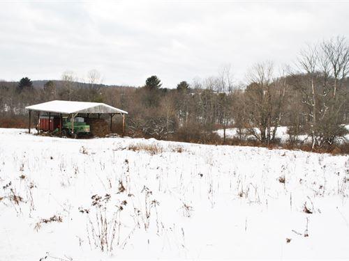 68 Acres Farmland Barn Binghamton : Triangle : Broome County : New York
