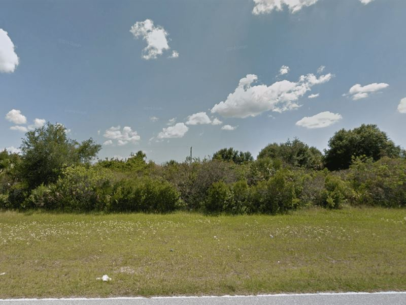 Residential Lot With City Water : Englewood : Sarasota County : Florida