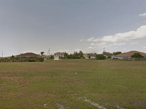 Residential Land In Cape Coral, Fl : Cape Coral : Lee County : Florida