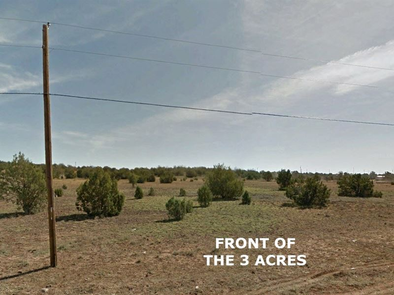 3.06 Acres With Power Kaibab Estate : Williams : Coconino County : Arizona