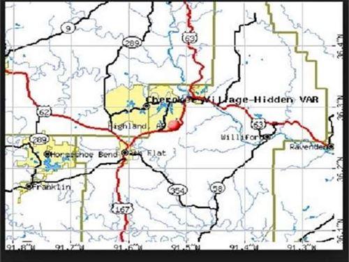 Highland City, Fulton County : Highland City : Fulton County : Arkansas