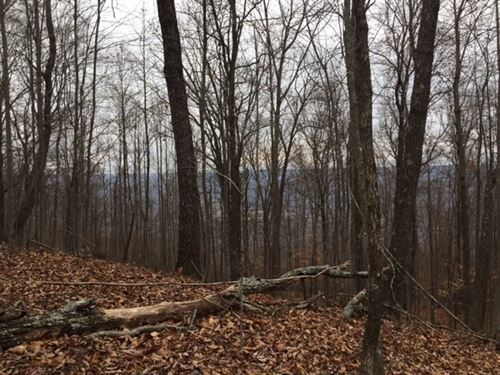 5.45+/- Acres Breathtaking Views : Sewanee : Marion County : Tennessee