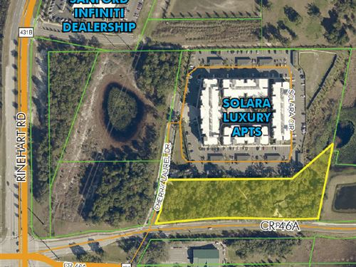 Commercial Site On Cr 46A : Sanford : Seminole County : Florida