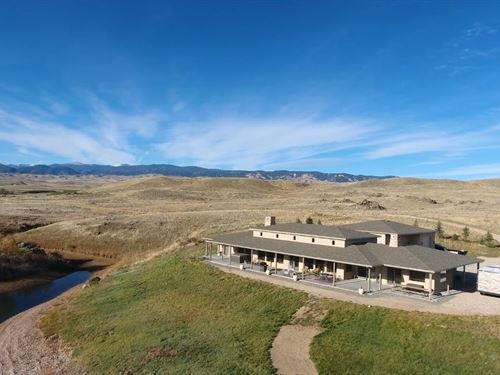 Waterfront Lake House : Buffalo : Johnson County : Wyoming
