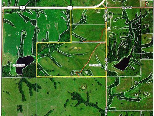 120 Acres South Of Milan, Mo. : Milan : Sullivan County : Missouri