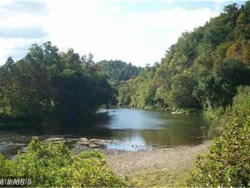 Property With River Access : Bloomery : Hampshire County : West Virginia