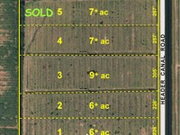 7.26Ac Lot On Paved Road : Fort Pierce : Saint Lucie County : Florida