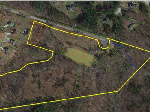 25 Acres Of Land In Va : Danville : Pittsylvania County : Virginia