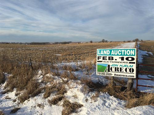 Cropland And Hillside Grassland : Dickens : Clay County : Iowa