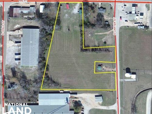 Hwy 41 Commercial Opportunity : Okolona : Chickasaw County : Mississippi
