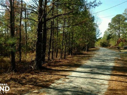 Chatman Drive Hunting, Homesite, Or : Phenix City : Russell County : Alabama