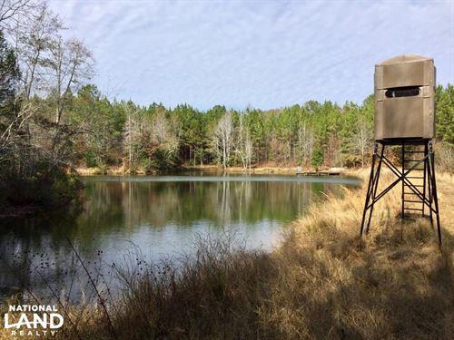 The Magnolia Lakes Camp Creek Tract : Magnolia : Marengo County : Alabama