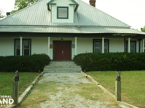 Blackhorse Lodge : Cliftonville : Noxubee County : Mississippi