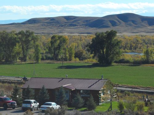 Riverview Ranch : Kinnear : Fremont County : Wyoming