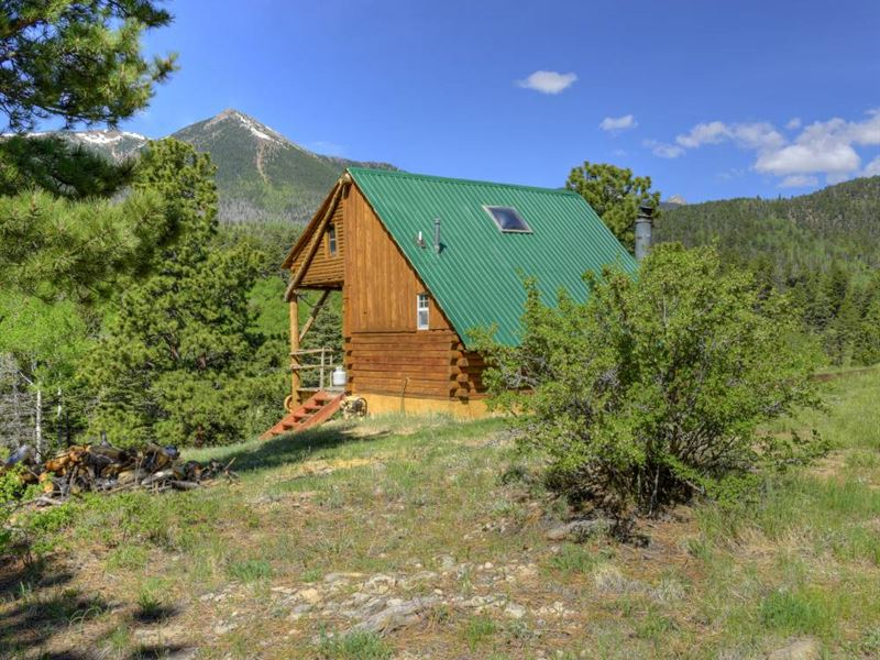 Cottonwood Creek Hunting Camp : Westcliffe : Custer County : Colorado