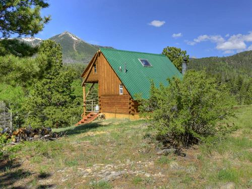 Cottonwood Creek Hunting Camp : Westcliffe : Custer County : Colorado