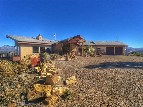 F22 Santa Fe Trail Ranch Home : Trinidad : Las Animas County : Colorado