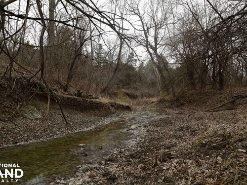 Parker Ks Hunting Tract : Parker : Linn County : Kansas