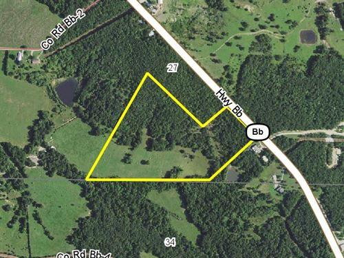 23.6 Acres Hwy Bb : Iberia : Miller County : Missouri