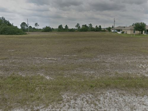.23 Acre Vacant Lot For Sale : Cape Coral : Duval County : Florida