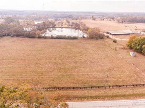 10 Acres Open Land W/ Pond : Madison : Morgan County : Georgia