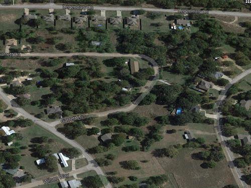 Neighborhood Lot For Sale Now : Gun Barrel City : Henderson County : Texas