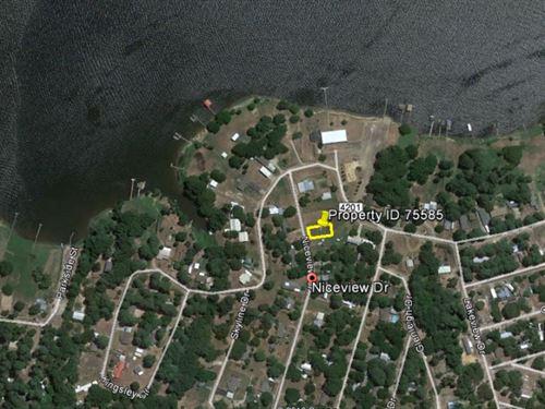 1/8 Acre Parcel Near Lake Palestine : Chandler : Henderson County : Texas