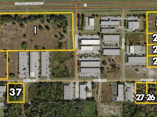 Osceola Industrial Park Land : St. Cloud : Osceola County : Florida