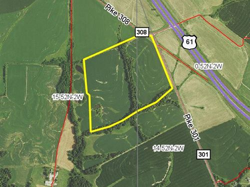 56 Acres Pike Rd 301 : Bowling Green : Pike County : Missouri