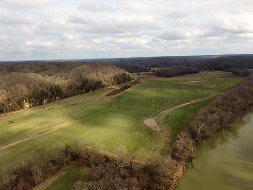 74 Acres On The Duck River : Hurricane Mills : Humphreys County : Tennessee
