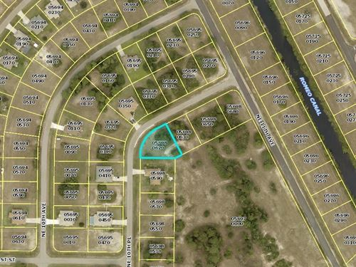 Huge Corner Lot In South Florida : Cape Coral : Lee County : Florida