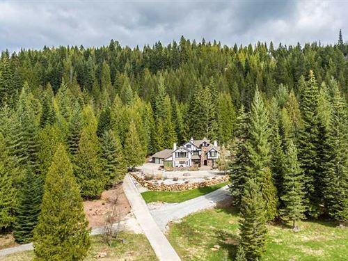 Braden Elk Ranch : Priest River : Bonner County : Idaho