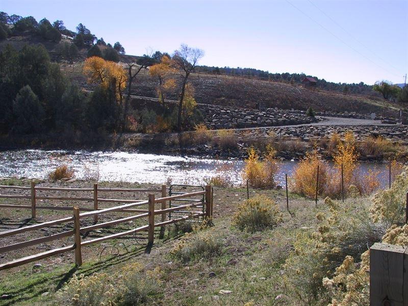 Pinon Hills Ranch - Lot 10 : Pagosa Springs : Archuleta County : Colorado